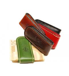 Peňaženka Pánska Kožená -klip na peniaze 6e906544a89