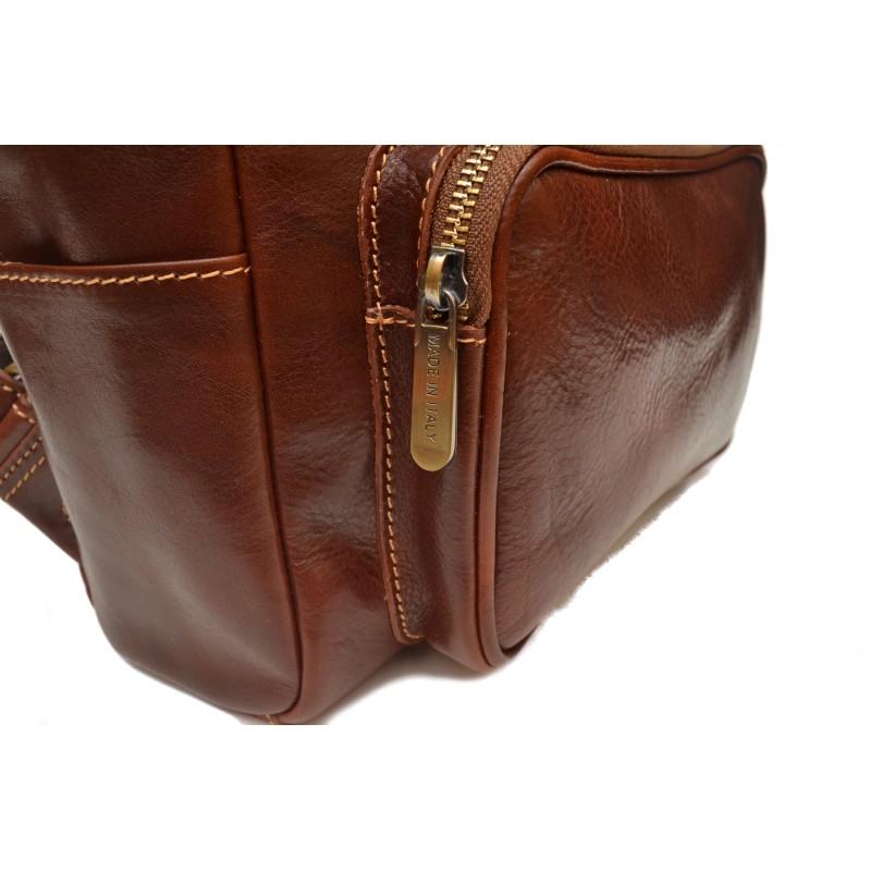 ec4ed64510 kožený ruksak školsky - Galantéria SCHUBERT